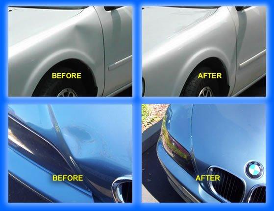 Paintless Dent Repair Street Scenes Automotive